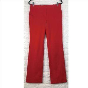J. Crew Stretch Cotton Trouser Pants Size 6